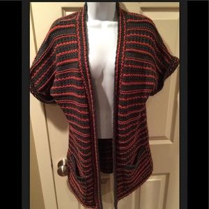 SILENCE AND NOISE Anthropologie Long Cardigan